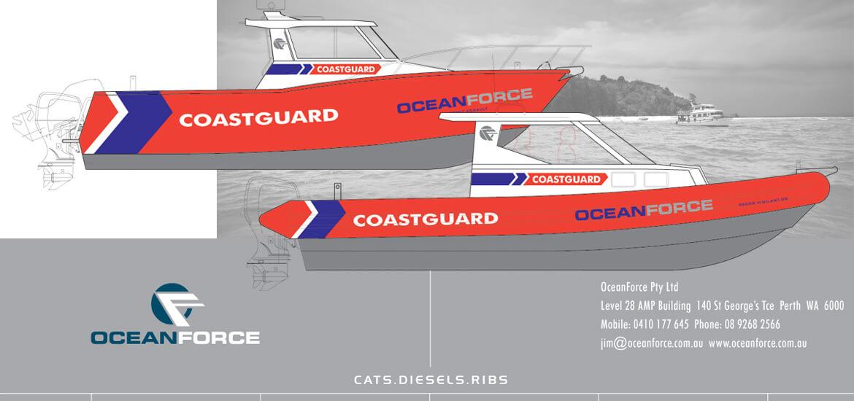 OCEANFORCE . COASTGARD BOAT DESIGN